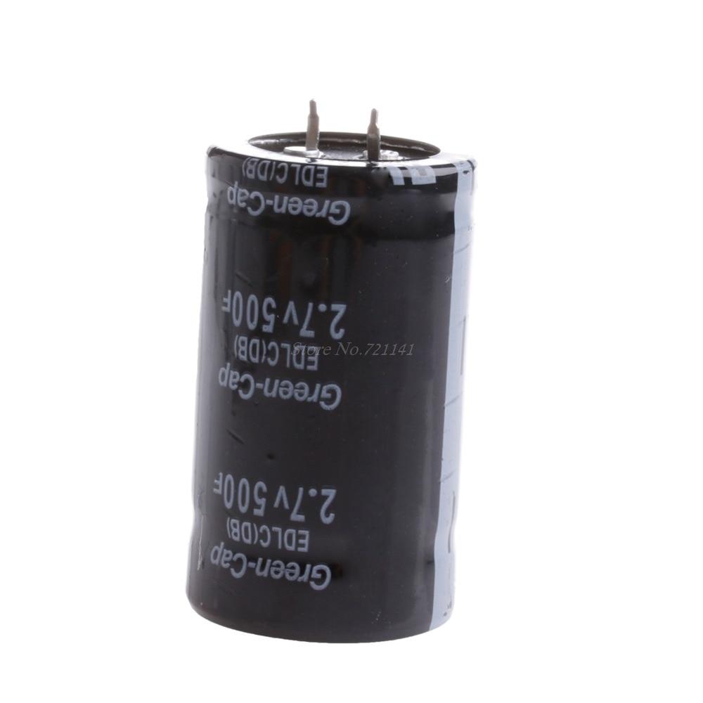 2pcs Super Farad Capacitors 35*60mm 2.7V Cylinder Replaces 500F Professional