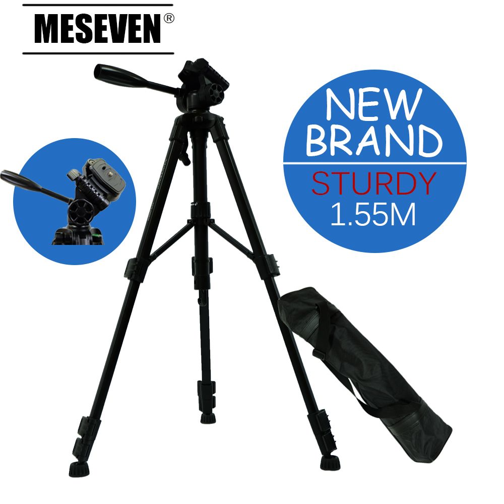 ФОТО MESEVEN T690 Lightweight Camera Tripod Professional Portable Travel Compact Aluminum table Tripod with Quick Release Plate