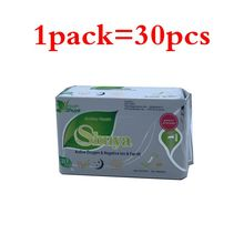 19pack Sanitary Towels Organic Cotton  Pads Anion Panty Liners Feminine Hygiene sanitary pads chinese copas menstruales
