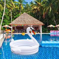 Inflatable Baby Swimming Pool Piscina Portable Outdoor Children Basin Bathtub White Swan Kids Pool Baby Swimming Pool