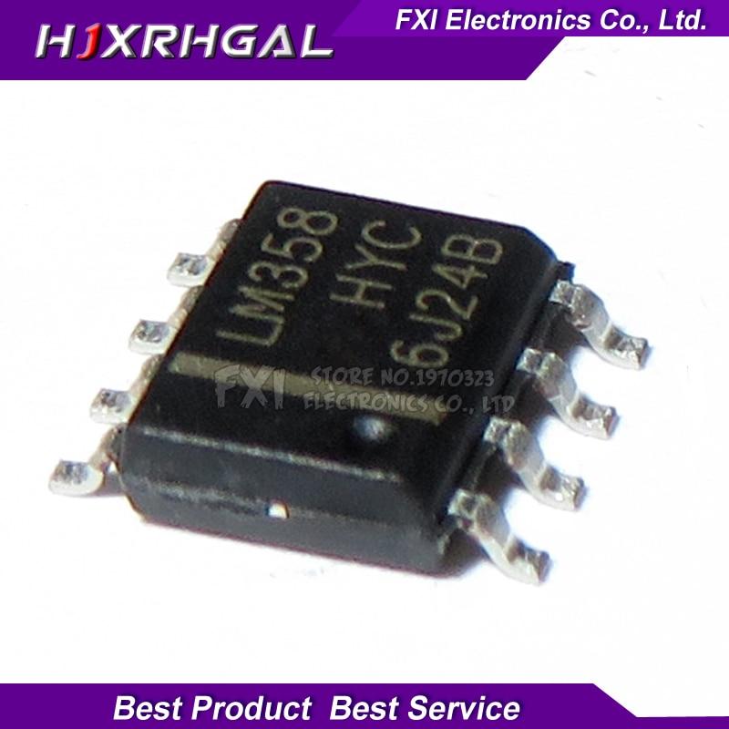 50PCS LM358DR LM358 SOP8 SOP LM358DT SMD LM358DR2G New Original