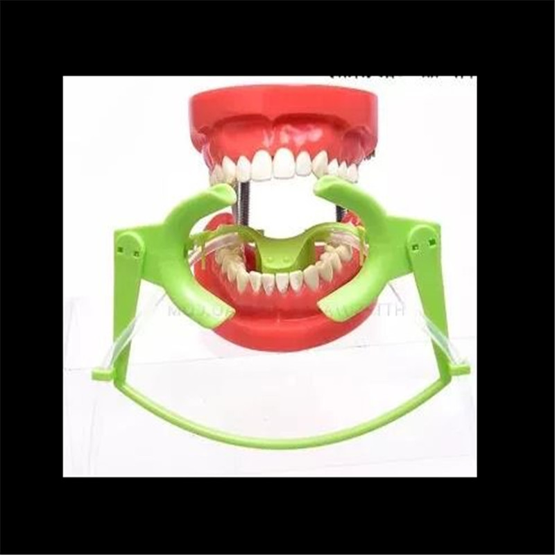 A0275 New 1 Pcs Orthodontic Cheek Retractor with Salive Suction Function Mouth Opener Suit for Teeth Whitening and Orthodontic 2pcs dental opener tongue spatula intraoral cheek lip retractor opener autoclavable