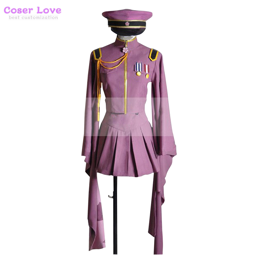 Hatsune Miku Christmas Outfit.Us 58 0 Vocaloid Thousand Cherry Tree Hatsune Miku Uniform Cosplay Costume Skirt Halloween Christmas Costume In Anime Costumes From Novelty