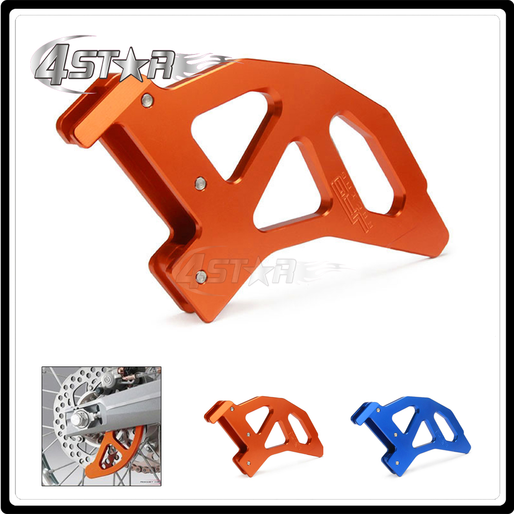 Motorcycle Rear Brake Disc Rotor Guard Cover For KTM 125SX 125EXC 2006-2017 150SX 2009-2017 200XCW 2006-2017 for ktm 390 200 125 duke 2012 2015 2013 2014 motorcycle accessories rear wheel brake disc rotor 230mm stainless steel