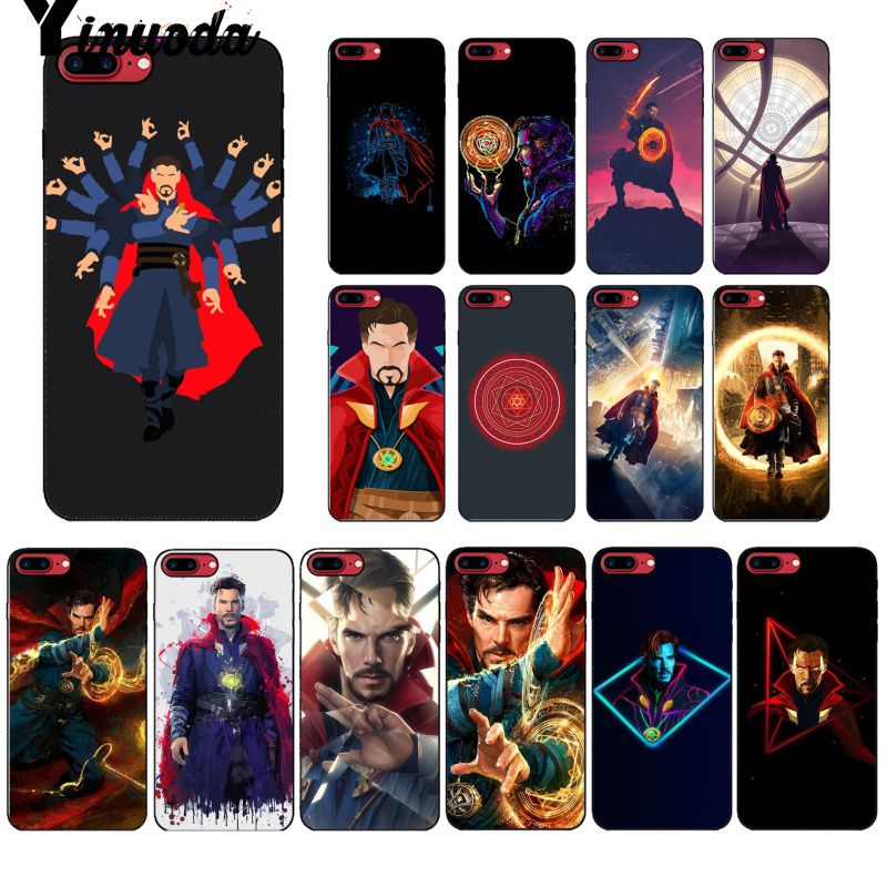 Phone Bags & Cases Half-wrapped Case Yinuoda Marvel Cinematic Superhero Doctor Strange Diy Protector Case For Apple Iphone 8 7 6 6s Plus X Xs Max 5 5s Se Xr Cover
