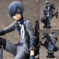 "Free Shipping 7"" Anime Black Butler Book of Circus Kuroshitsuji Ciel Boxed 18cm PVC Action Figure Collection Model Doll Toy Gift"