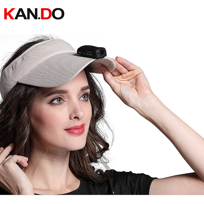 1080P 30fps hunting camera clip ok hang on hat surveillance camera hat brim mini DVR sport camera action camera 120 degree lens