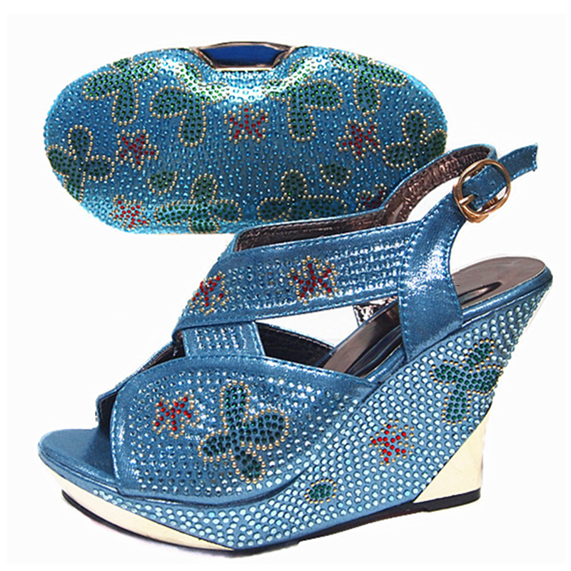 Image 2 - Sliver Color Italian Shoes and Bags To Match Shoes with Bag Set  Sales In Women Matching Shoes and Bag Set High Quality Shoes Bagshoe  and bagitalian shoes and bagsshoes with bags