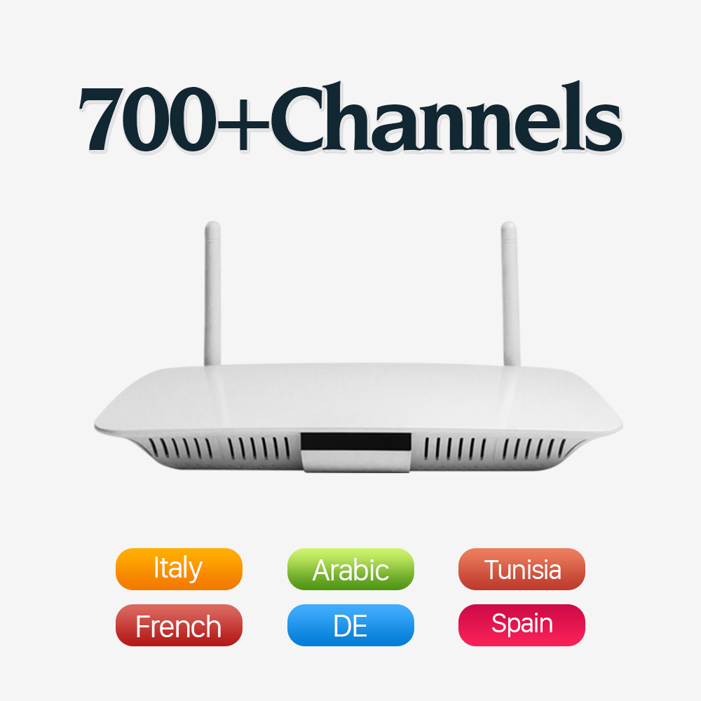 все цены на Dalletektv Arabic IPTV Box Free Arabic Italy French Germany Channel European IPTV Set Top Box Smart Android TV Box with WIFI онлайн