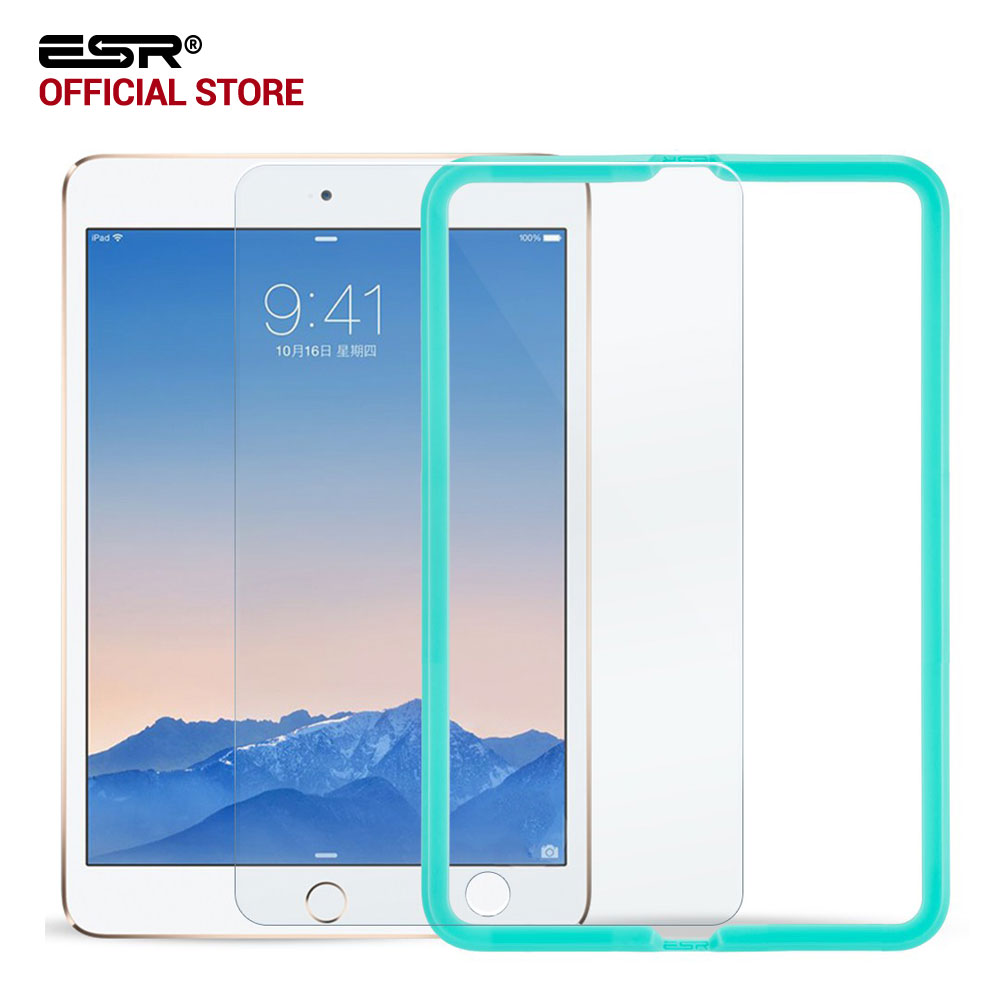 Screen Protector for iPad mini 4 Tempered Glass ESR Triple Strength Screen Protector with Free Applicator for iPad mini 4 Glass tempered glass screen protector for xiaomi redmi note 4