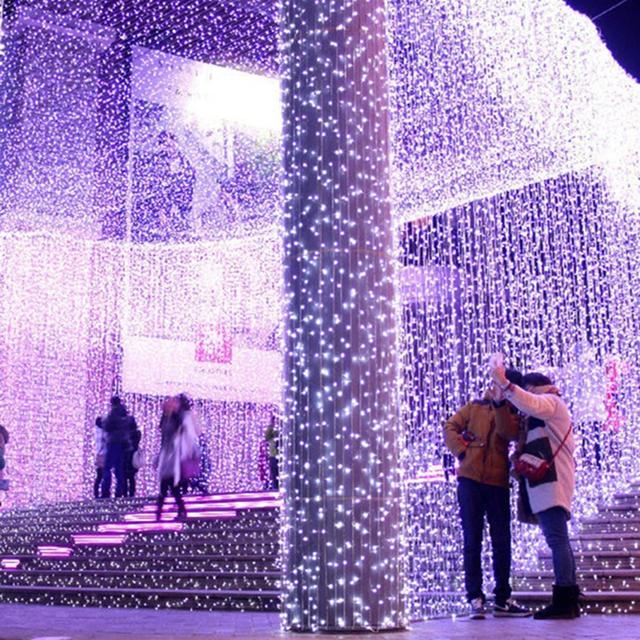 LED String Fairy Lights Wedding Party Xmas LED Light Waterproof 220-240V