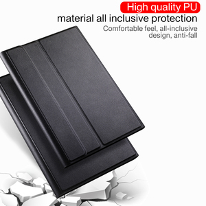 Image 2 - Bluetooth Keyboard Case 2019 for Samsung Galaxy Tab a 10.1 SM   T510 T515 Wireless Keyboard PU Leather Tablet Cover