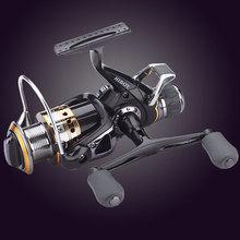 цена на Carp Fishing Reel Spinning Reels Metal Spool Pesca 5.2:1 9+1BB Crretilha Baitcasting Stainless steel Shaft Rear Drag Wheel J3FR