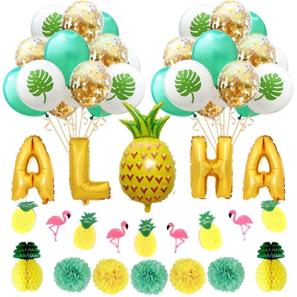 3 pc PINEAPPLE TROPICAL DRINK HOLDER Hawaiian Luau Beach Party Supply Decor 7-1b
