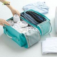 2018 Fashion Portable Hanging Women Men Clothes Bag Waterproof Sundries Travel Organizer Washing Toiletry kit Wash Storage Bag