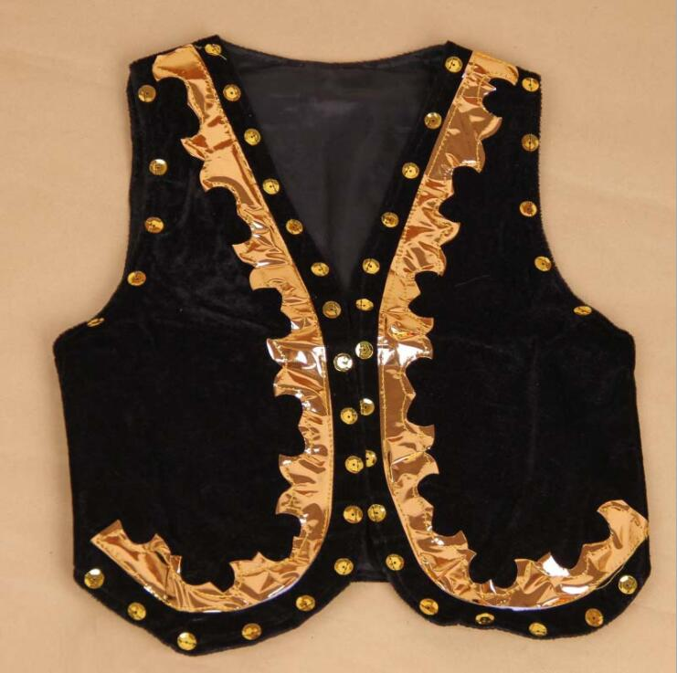 children dance costumes boys vest boys uygur dance children s performance costumes