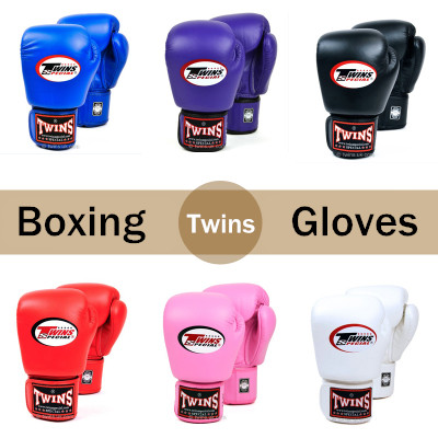 8OZ 10OZ 12OZ 14OZ Twins Kick Boxing Gloves Men Women Kids PU Leather Karate MMA Gloves Boxing Gloves Muay Thai jduanl 1pc left right thick leg support boxing pads muay thai mma legs guards protector trainer combat sanda karate training deo
