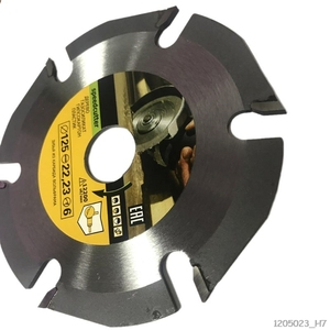 Image 1 - 125mm 6T Circular Saw Blade Multitool Grinder Saw Disc Carbide Wood Cutting Disc Carving Blades For Angle Grinders