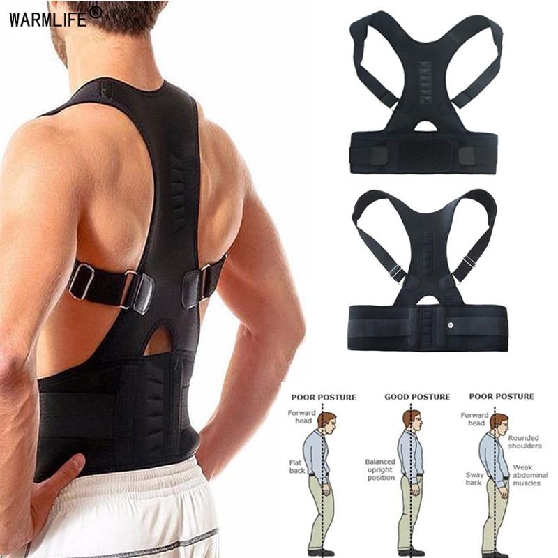 Magnetic Posture Corrector Therapy Brace Shoulder Back Support Belt for Men Women Braces & Supports Belt Shoulder Posture-in Braces & Supports from Beauty & Health