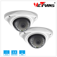 IP Camera POE Onvif 2 4 Vandalproof Dome 3 6mm Lens 720P HD 1080P Indoor 8m