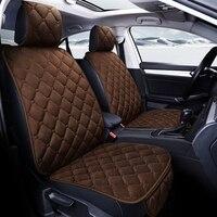 5seats warm plush car seat cover for Chevrolet Aveo Cruze Captiva Malibu SPARK Impala Niva Beat Code SS Chrysler Ypsilon 200 300