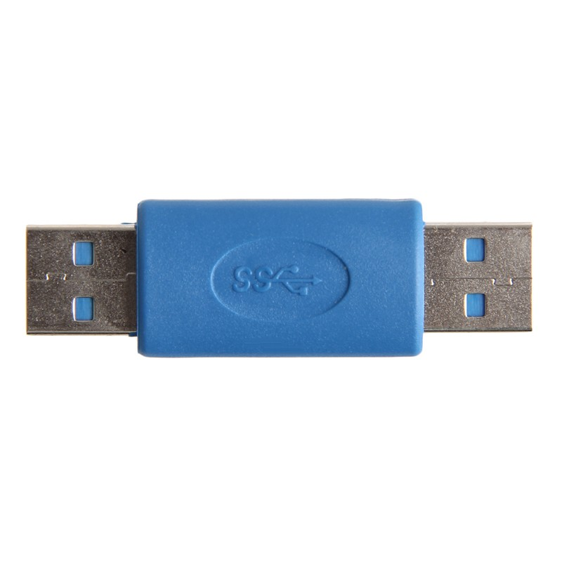 New USB 3.0 A Male To A Male M-M Coupler Adapter Connector