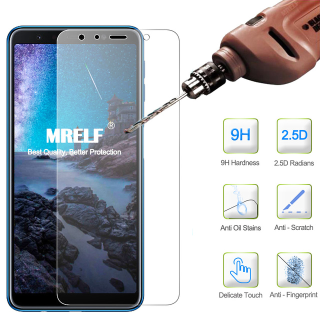Tempered Glass for Samsung Galaxy A7 2018 Screen Protector A7 A9 2018 Phone Protective on Glass for Samsung A9S A9 2018 Glass A7
