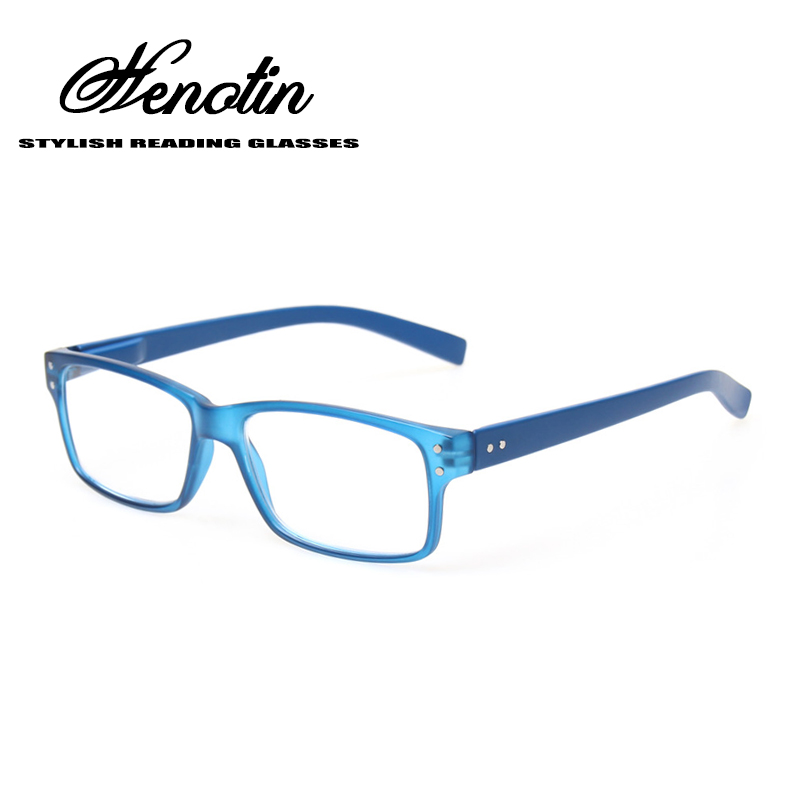 ⊹Fashionable Plastic Frame Metal Temple Reading Glasses High ...