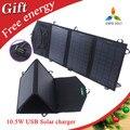 10.5 w Mono panel solar plegable cargador Solar Portátil Fodable Panel Solar de Salida USB Recargable Impermeable Plegable Bolsa