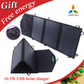 10.5w folding solar panel charger Portable Solar Charger Mono Fodable Solar Panel USB Output Waterproof Rechargeable Folding Bag