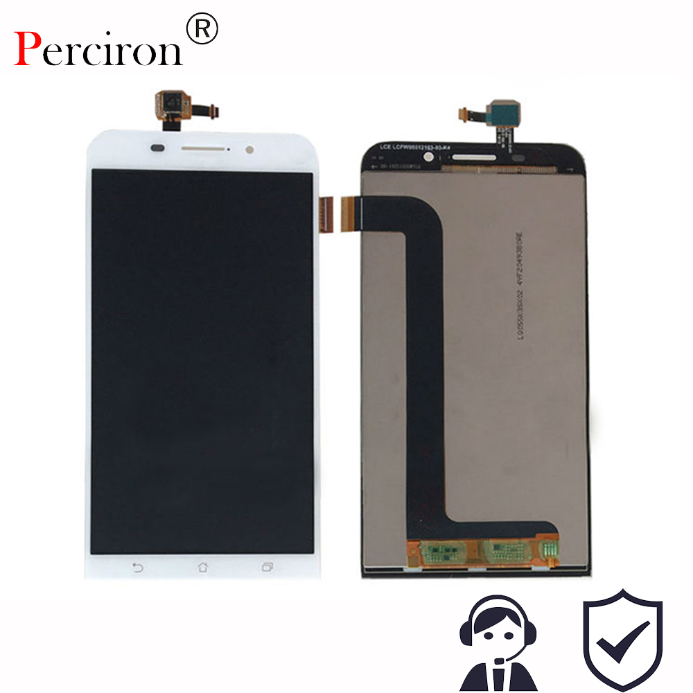 New 5.5'' inch For Asus Zenfone Max ZC550KL 1280*720 LCD Display + Touch Screen Digitizer Assembly Free shipping tested repair part 5 inch for asus zenfone 5 lcd a500cg a501cg full display screen with touch digitizer 1 pcs free shipping