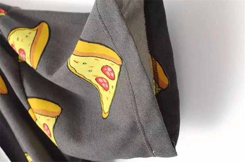 HTB1JndoOpXXXXcYXpXXq6xXFXXX2 - No Drama Pizza Print Women T Shirts Short Sleeve