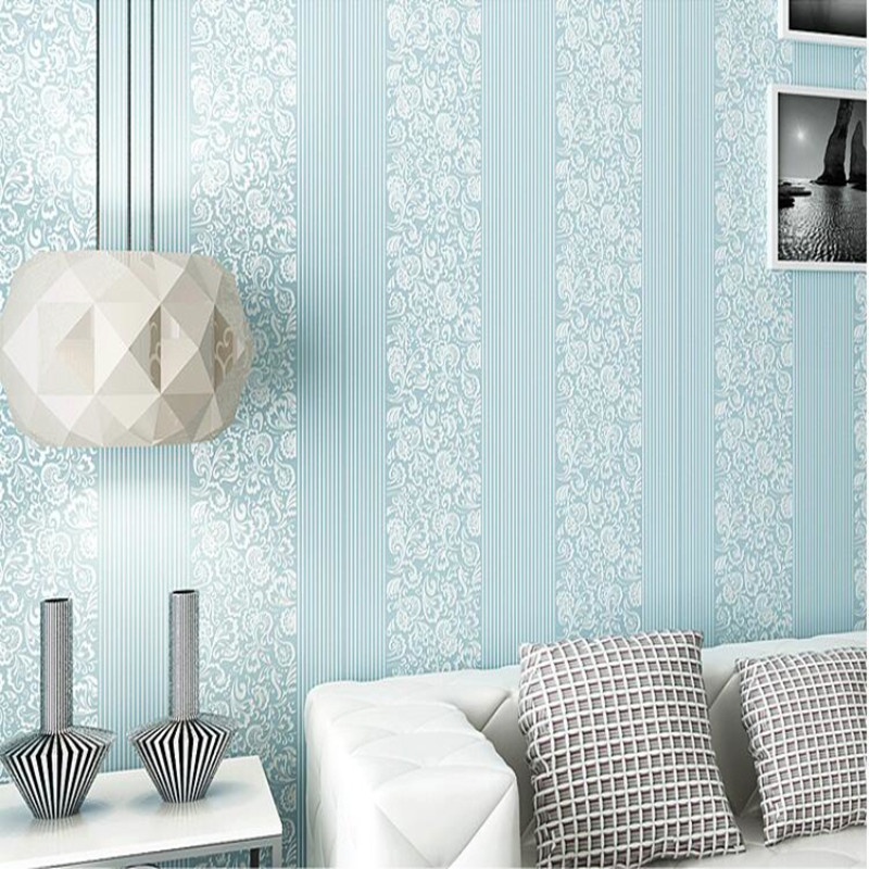 YOUMAN Modern Non-woven Wallpaper Rolls 3D Embossed Vertical Stripes Wallpapers Living Room Bedroom Wallpaper for Walls Decor 3d modern wallpapers home decor solid color wallpaper 3d non woven wall paper rolls decorative bedroom wallpaper green blue