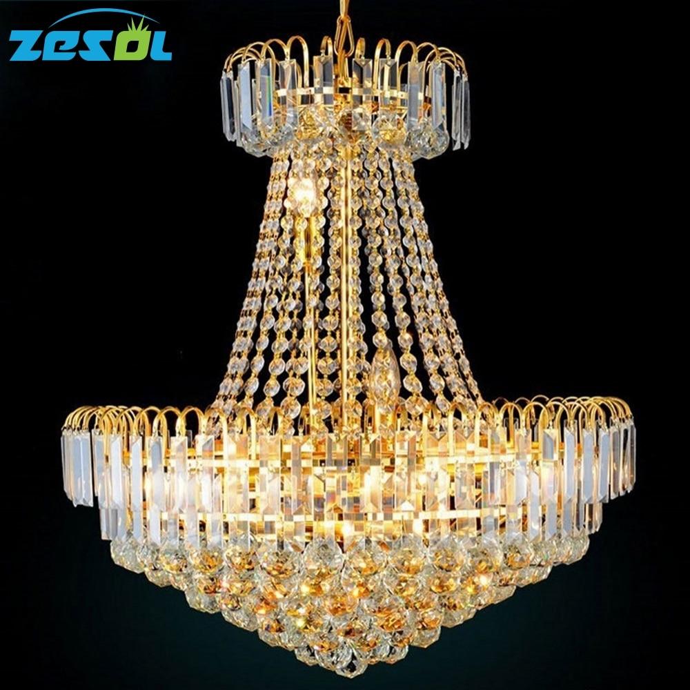 ZESOL modern kristálycsillár nappali függők és csillárok - Beltéri világítás