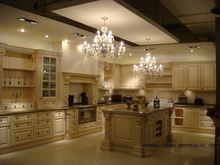 Модульные из цельного дерева/деревянные кухонные шкафы (lh sw003)