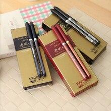 Фотография 3PCS/pack Hot Sale School Stationery High Quality 0.5mm Black Gel Pen Classical Business Sign Pen School&Office Supplies