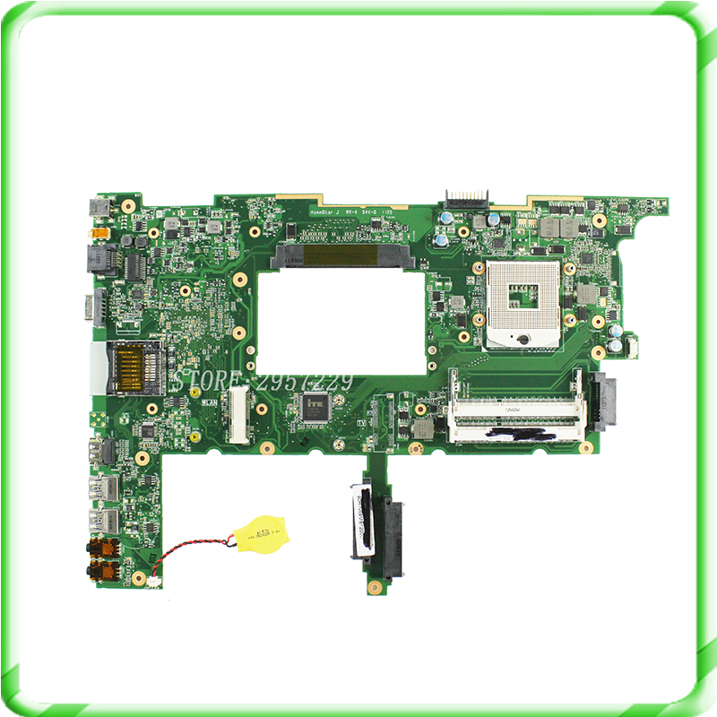 laptop Motherboard System Board for N75SF N75SL N75S series mainboard GT555M HM65 USB3.0 REV2.0 Fully tested good condition for hp 8100 elite 531990 001 system board mainboard pci e ddr3 1156 pin fully tested good condition