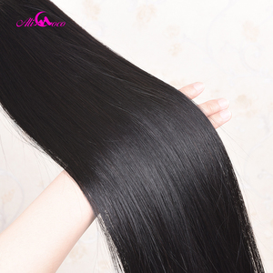 Image 5 - Ali Coco Straight Hair 8 40 Inch Human Hair Extensions 28 30 32 34 36 38 Inch Brazilian Hair Weave Bundles Non Remy