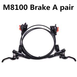 Image 3 - SHIMANO DEORE XT M8000 M8100 בלם הרי אופני XT Hidraulic דיסק בלם MTB ICE TECH שמאל וימין 800/900 /1500/1600mm