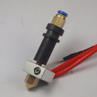 Direct/bowden j-head kit de extremidade quente (version5) para reprap mg plus 3d conjunto da impressora com alemanha peek ntc 100 k thermister 104gt-2