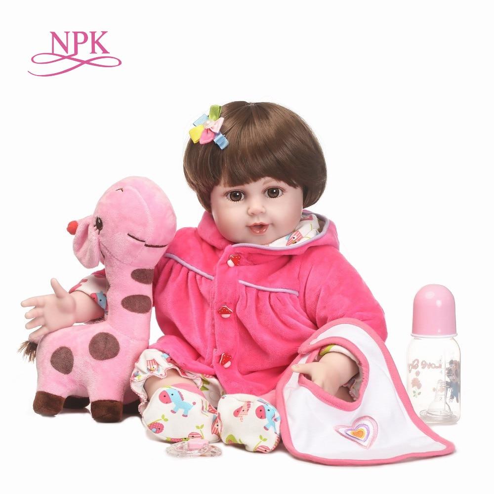 "Realistic Lifelike 18/"" Silicone Reborn Princess Girl Baby Newborn Doll Xmas Gift"