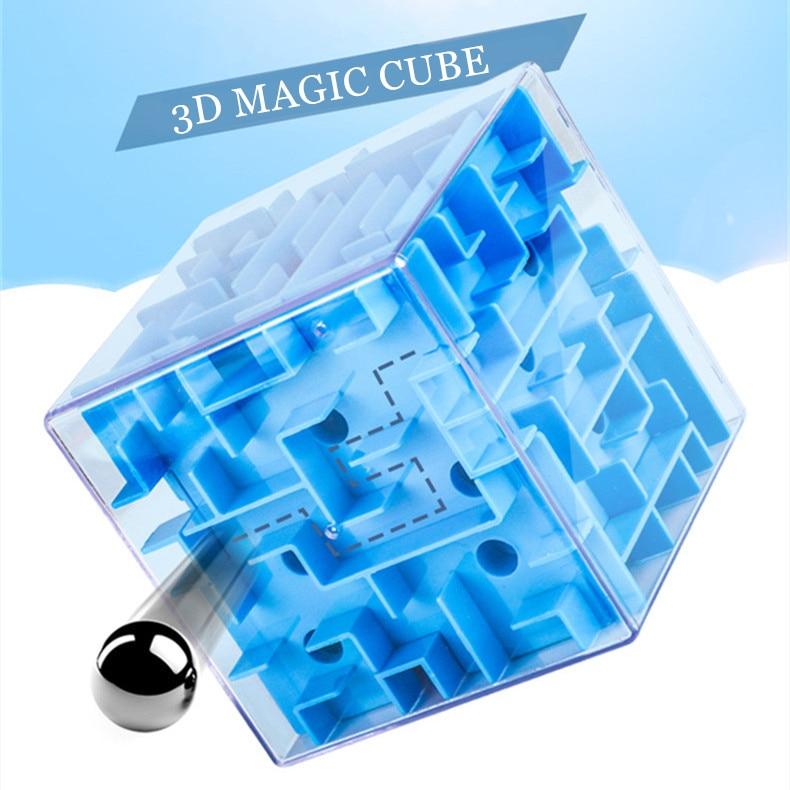 3D Cube Maze 1
