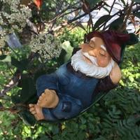 Country Swing Garden Decoration Tree Hanging Charm Fleshy Flowerpot Villa Garden Plant Dwarf Micro Landscape gardening