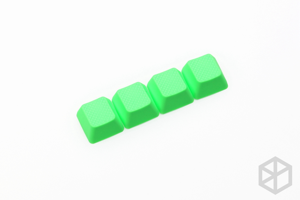 Taihao Rubber Gaming Keycap Set Rubberized Keyboard Doubleshot Keycaps Cherry MX