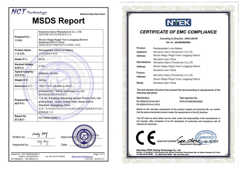 CE-MSDS