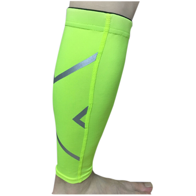 Unisex Womens Mens Leg Support Braces Calf Socks Compressions Sleeves Running Basketball Weight Lift Leg Sleeves -only one