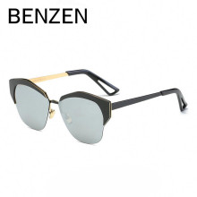 BENZEN New Cat Eye Sunglasses Women Brand Designer Polarized Female Sun Glasses Alloy Ladies Driving Glasses With Case 6368