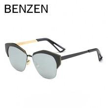 BENZEN New Cat Eye Sunglasses Women Brand Designer Polarized Female Sun Glasses Alloy Ladies Driving Glasses With Case 6368