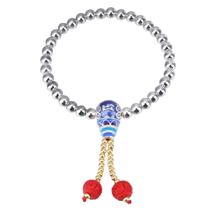 ZTUNG DIS3 For MO High Quality 2019 Two bead bracelet fine Beautiful 925 Silver bangle Jewelry For Women Classic Bangles GiftZTUNG DIS3 For MO High Quality 2019 Two bead bracelet fine Beautiful 925 Silver bangle Jewelry For Women Classic Bangles Gift