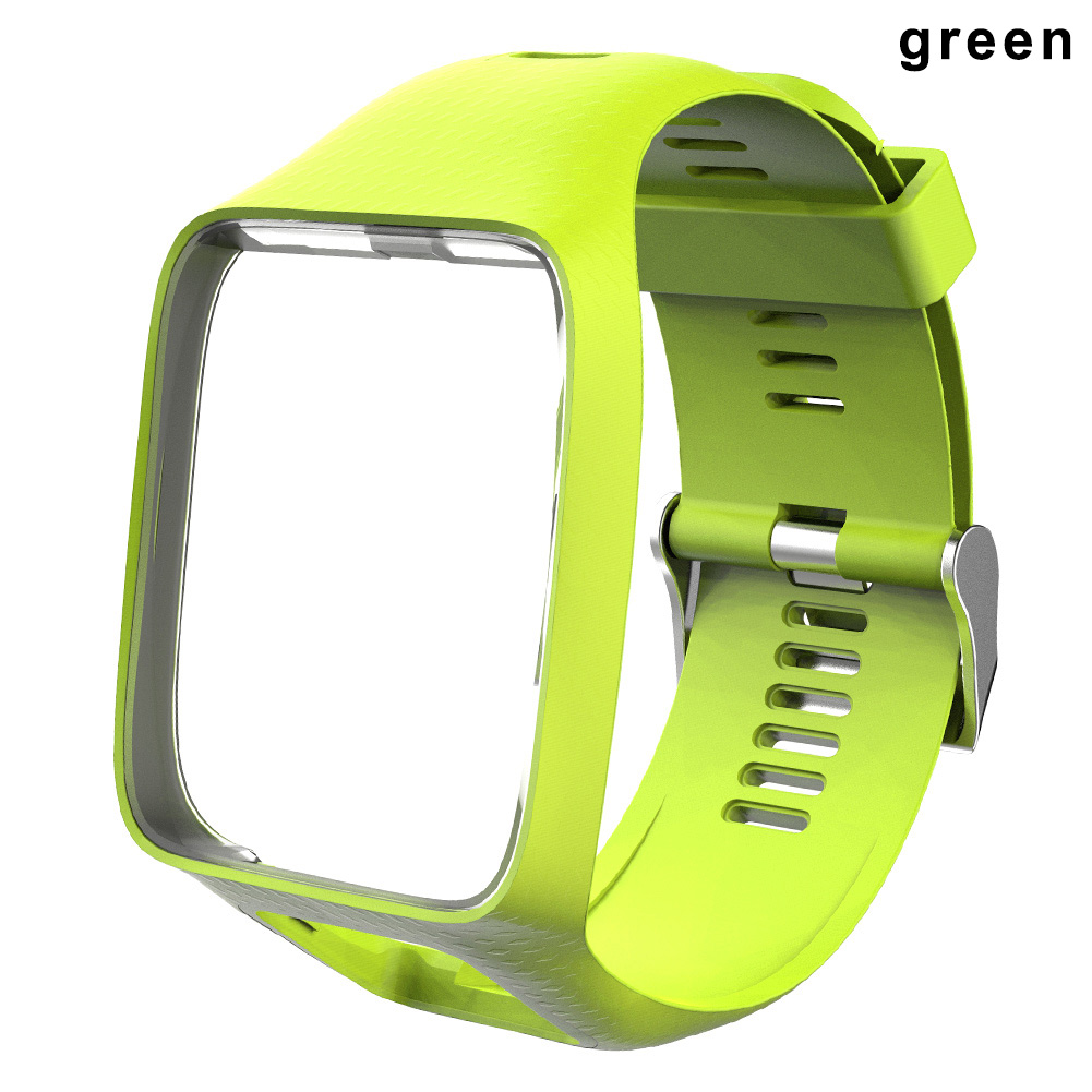 Watchband Watch Strap Silicone Replacement Wrist Band Belt for TomTom 2 3 Series  LSMK99